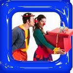 clown piewie en kiewie