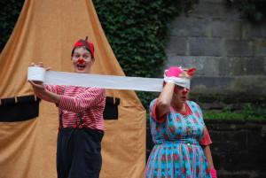 Flosje en Blosje Clowns