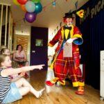 clown goochelen zuid holland