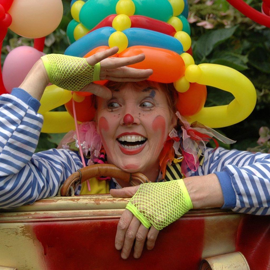 Clown Joepie ballonnenclown